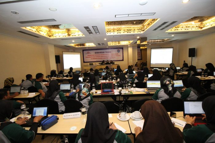 BIMTEK Pendampingan Penyusunan Dokumen Persyaratan PPK-BLUD Puskesmas Kabupaten Ogan Ilir 2019