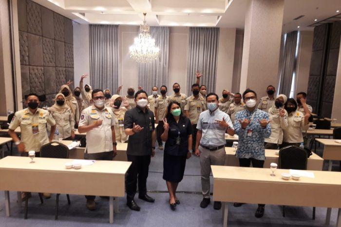 Bimtek Peningkatan Kapasitas Anggota Satpol PP Kota Bandung Tahun 2021